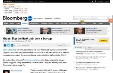 http://www.bloomberg.com/news/2012-06-13/grads-skip-the-bank-job-join-a-startup.html