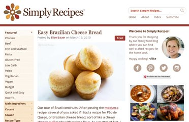 http://www.simplyrecipes.com/recipes/easy_brazilian_cheese_bread/