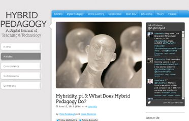 http://www.hybridpedagogy.com/Journal/files/What_Does_Hybrid_Pedagogy_Do.html