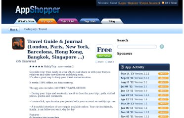 http://appshopper.com/travel/mobilytrip-travel-journal-and-guides