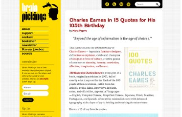 http://www.brainpickings.org/index.php/2012/06/15/charles-eames-quotes/
