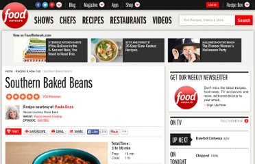 http://www.foodnetwork.com/recipes/paula-deen/southern-baked-beans-recipe2/index.html