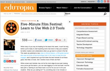 http://www.edutopia.org/blog/film-festival-technology-tool-tutorials