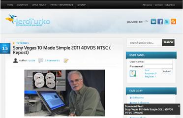 http://www.heroturko.biz/tutorials/147096-sony-vegas-10-made-simple-2011-4dvds-ntsc-repost.html