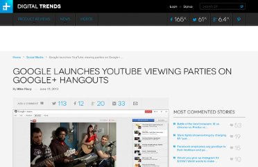 http://www.digitaltrends.com/social-media/google-launches-youtube-viewing-parties-on-google-hangouts/