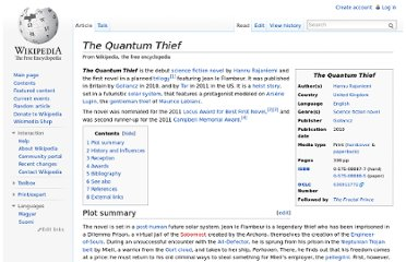 http://en.wikipedia.org/wiki/The_Quantum_Thief