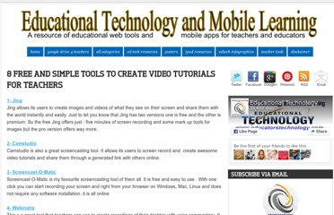 http://www.educatorstechnology.com/2012/06/8-free-and-simple-tools-to-create-video.html