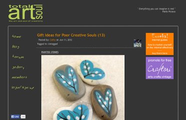 http://www.totalartsoul.com/myblog-admin/gift-ideas-for-poor-creative-souls-13.html