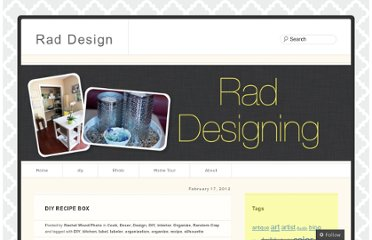 http://raddesigning.wordpress.com/2012/02/17/diy-recipe-box/