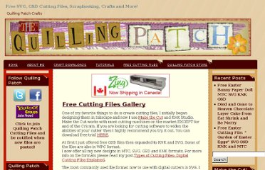 http://www.quillingpatch.com/free-cutting-files/