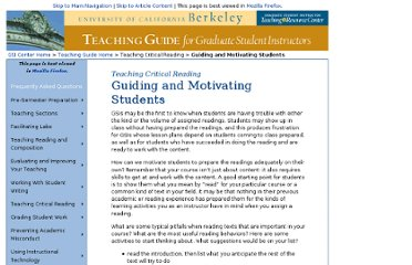 http://gsi.berkeley.edu/teachingguide/reading/guiding.htm