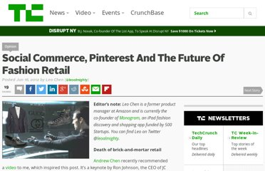 http://techcrunch.com/2012/06/16/social-commerce-pinterest-and-the-future-of-fashion-retail/