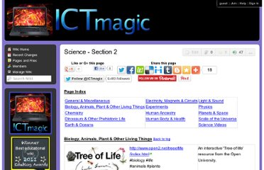 http://ictmagic.wikispaces.com/Science+-+Section+2