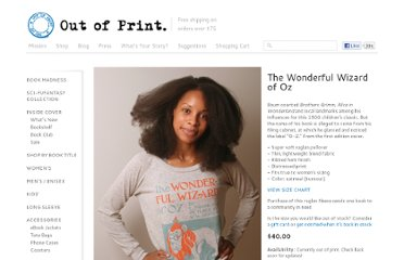 http://shop.outofprintclothing.com/The_Wizard_of_Oz_book_cover_raglan_pullover_p/l-1039.htm