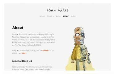 http://johnmartz.com/about
