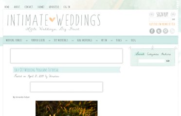 http://www.intimateweddings.com/blog/easy-diy-wedding-programs-tutorial/