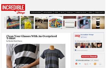 http://www.incrediblethings.com/style-and-gear/clean-your-glasses-with-an-overpriced-t-shirt/