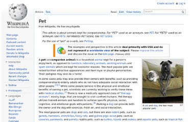 http://en.wikipedia.org/wiki/Pet