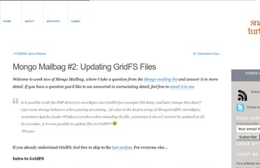 http://www.kchodorow.com/blog/2010/02/11/mongo-mailbag-2-updating-gridfs-files/