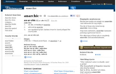 http://dictionary.reference.com/browse/anarchic
