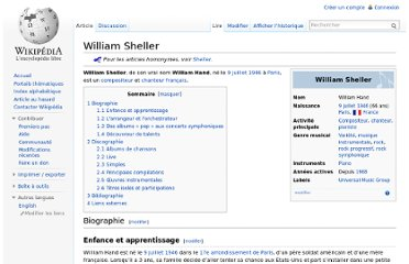http://fr.wikipedia.org/wiki/William_Sheller