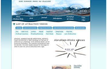 http://www.lawofattractioninteraction.com/LawofAttraction_Videos.php#