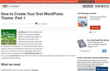 http://www.1stwebdesigner.com/tutorials/how-to-create-your-first-wordpress-theme-part-1/