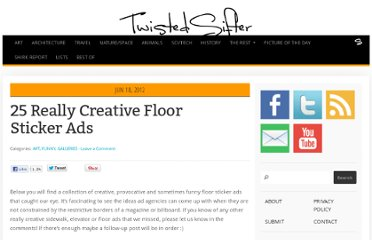 http://twistedsifter.com/2012/06/funny-creative-floor-sticker-ads/