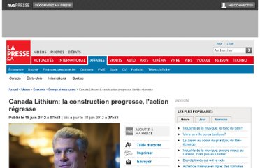 http://affaires.lapresse.ca/economie/energie-et-ressources/201206/18/01-4535862-canada-lithium-la-construction-progresse-laction-regresse.php