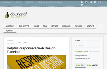 http://www.downgraf.com/freebies/helpful-responsive-web-design-tutorials/