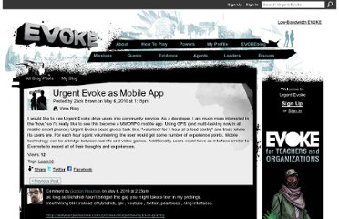 http://www.urgentevoke.com/profiles/blogs/urgent-evoke-as-mobile-app