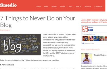 http://smedio.com/2012/06/18/7-things-never-do-your-blog/