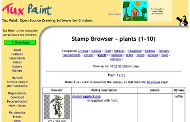 http://www.tuxpaint.org/stamps/index.php3?cat=plants