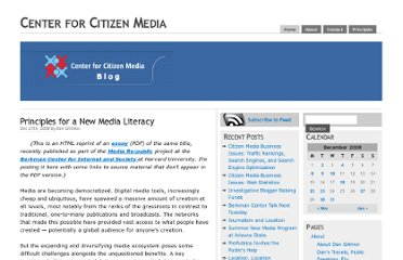 http://citmedia.org/blog/2008/12/27/principles-for-a-new-media-literacy/