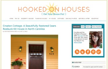 http://hookedonhouses.net/2012/06/01/croatan-cottage-a-beautifully-restored-sears-roebuck-kit-house-in-north-carolina/#
