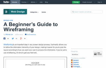 http://webdesign.tutsplus.com/tutorials/workflow-tutorials/a-beginners-guide-to-wireframing/