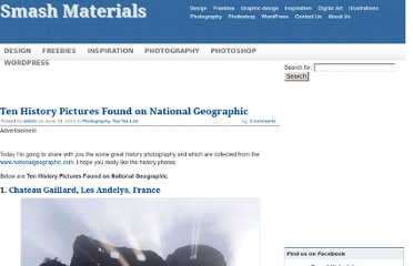 http://smashmaterials.com/2012/ten-history-pictures-found-on-national-geographic/