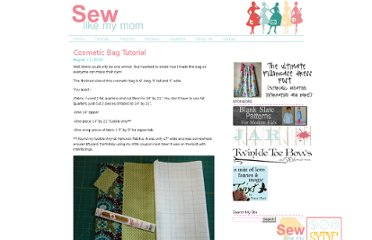 http://sewlikemymom.com/cosmetic-bag-tutorial/