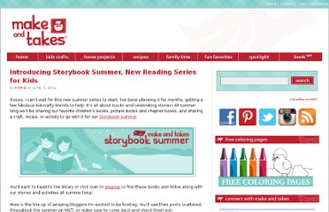 http://www.makeandtakes.com/introducing-storybook-summer-new-reading-series-for-kids