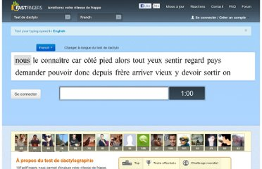 http://10fastfingers.com/typing-test/french#