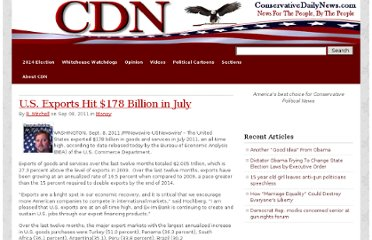 http://www.conservativedailynews.com/2011/09/u-s-exports-hit-178-billion-in-july/