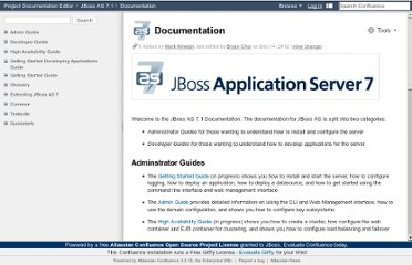 https://docs.jboss.org/author/display/AS71/Documentation