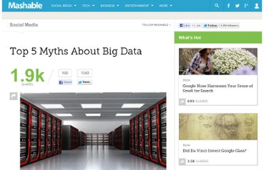http://mashable.com/2012/06/19/big-data-myths/