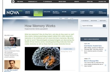http://www.pbs.org/wgbh/nova/body/how-memory-works.html