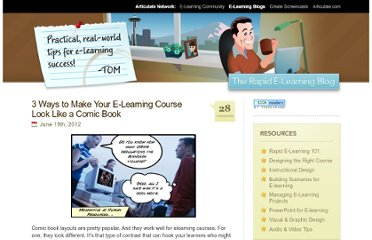 http://www.articulate.com/rapid-elearning/3-ways-to-make-your-e-learning-course-look-like-a-comic-book/