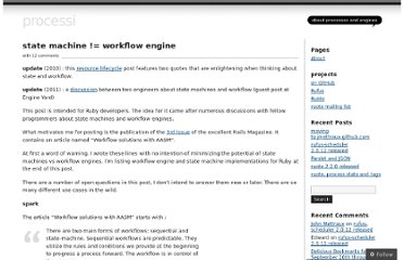http://jmettraux.wordpress.com/2009/07/03/state-machine-workflow-engine/