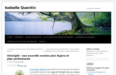 http://isabellequentin.wordpress.com/2012/06/19/ooolight-une-nouvelle-version-plus-legere-et-plus-performante/