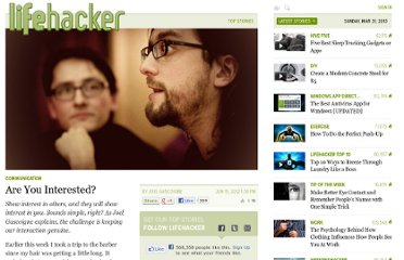 http://lifehacker.com/5919415/are-you-interested