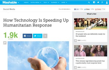 http://mashable.com/2012/06/19/technology-humanitarian-response/