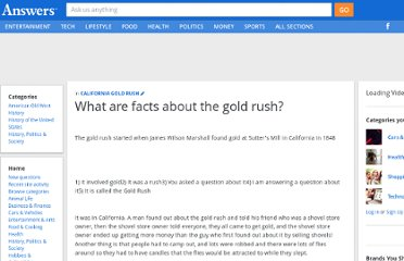 http://wiki.answers.com/Q/Do_you_have_15_facts_about_the_gold_rush